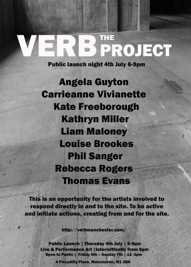 The VERB project 4PP 4th July